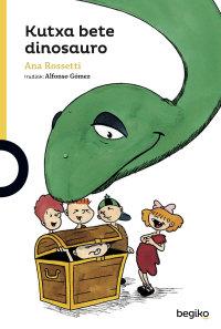 Portada Kutxa bete dinosauro