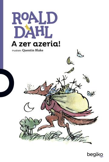 Liburuaren azala A zer azeria!