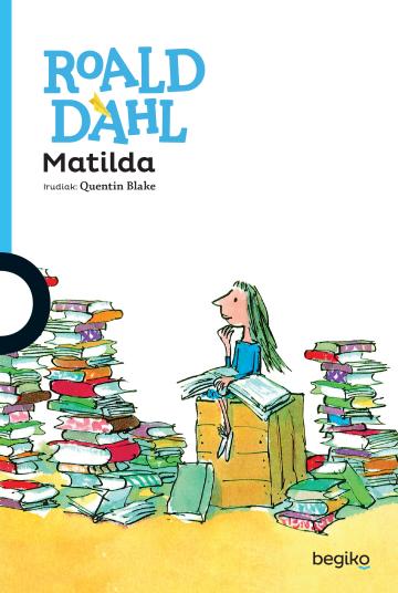 Liburuaren azala Matilda