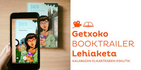 Jara Bartzelonan - Booktrailer Lehiaketa